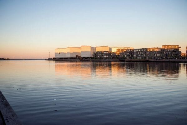 Harbor in Østerbro