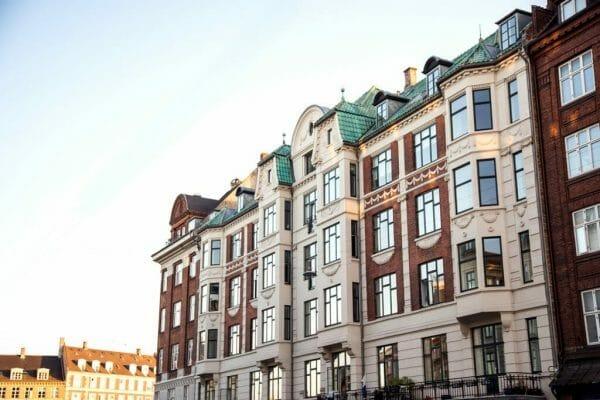 Victorian building in Østerbro