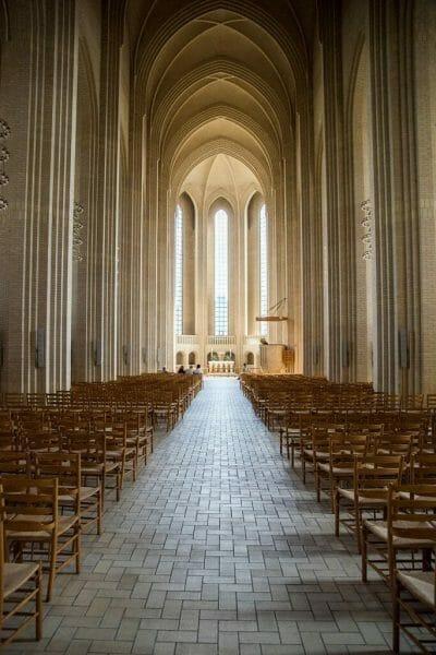 Grundtvig's Church in Copenhagen