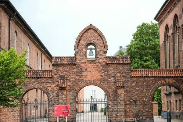Brick gates in Copenhagen