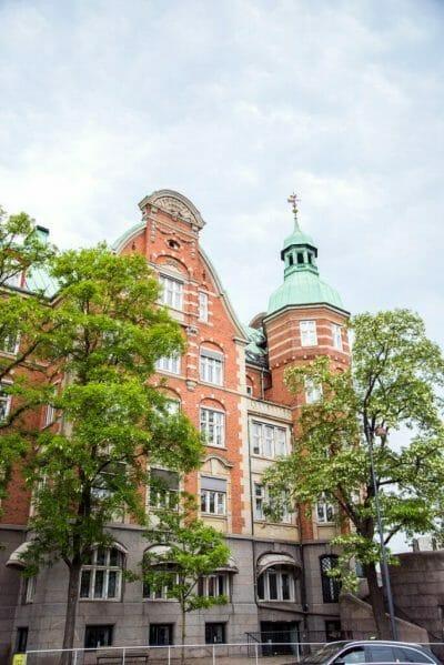 Victorian building in Copenhagen