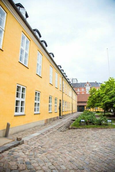 Yellow mansion in Copenhagen