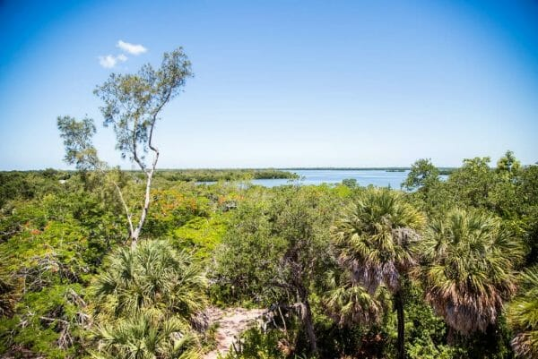 View from water tower on Cabbage Key