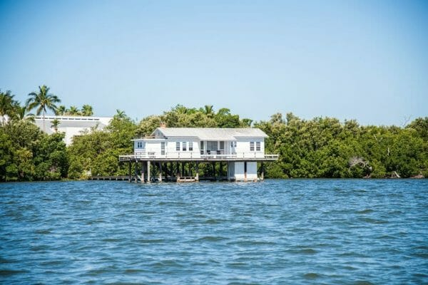 Boat trip in Cabbage Key, Florida
