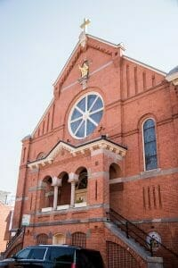 Church in Little Italy in Baltimore