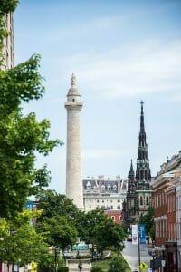 Mount Vernon in Baltimore