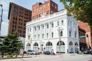 Historic architecture in Downtown Baltimore