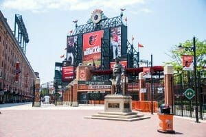 Camden Yards baseball park