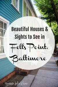 Beautiful Houses and Sights to See in Fell's Point, Baltimore