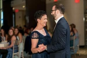 Mother son dance at Union Trust in Philadelphia