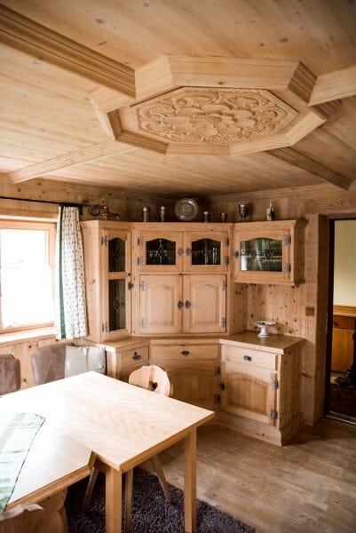 Historic Austrian style kitchen