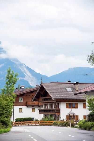 Alps in Niederbreitenbach, Austria