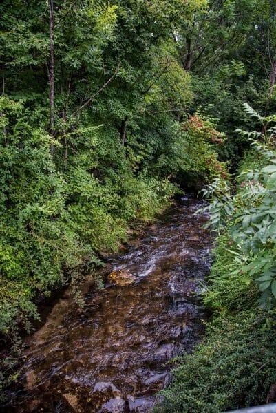 Creek in Niederbreitenbach, Austria