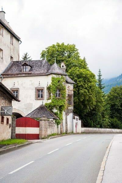 Historic stone house in Niederbreitenbach, Austria