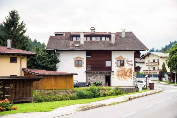 Painted house in Tirol