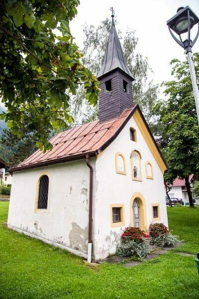Small church in Niederbreitenbach, Austria