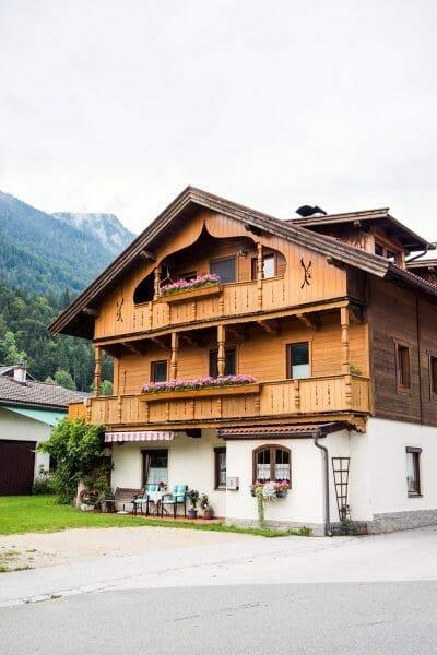 Ornate chalet in Niederbreitenbach, Austria