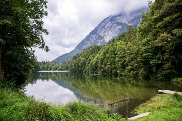 Stimmersee lake in Austria