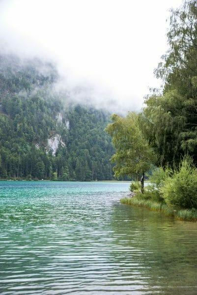 Fog over Hintersteiner See