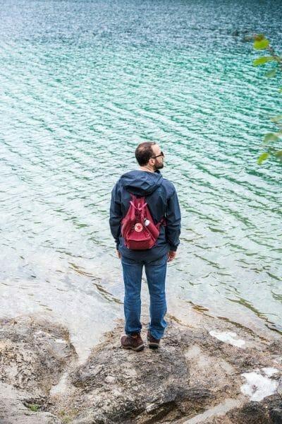 Hiking on Hintersteiner See