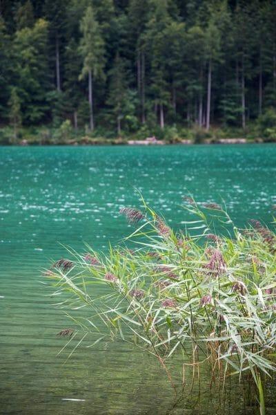 Turquoise lake in Austria