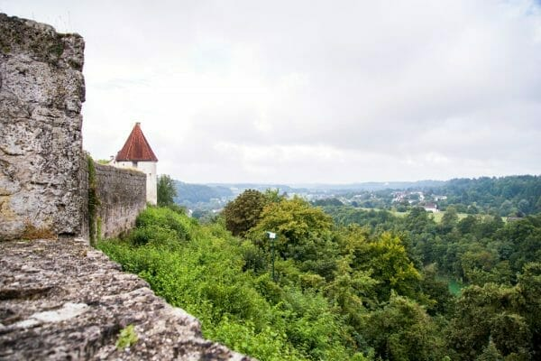 View from Burghausen Castle