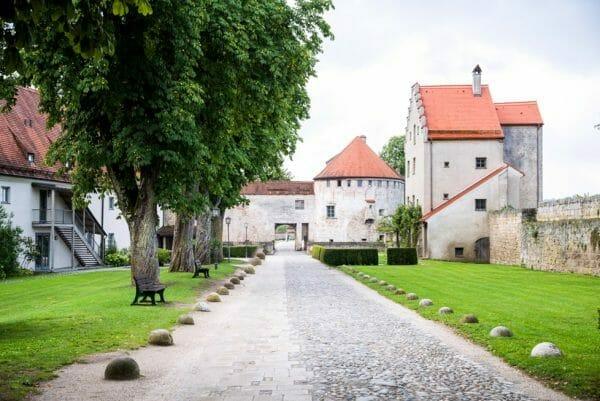 Burghausen Castle complex