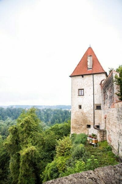 Burghausen Castle tower