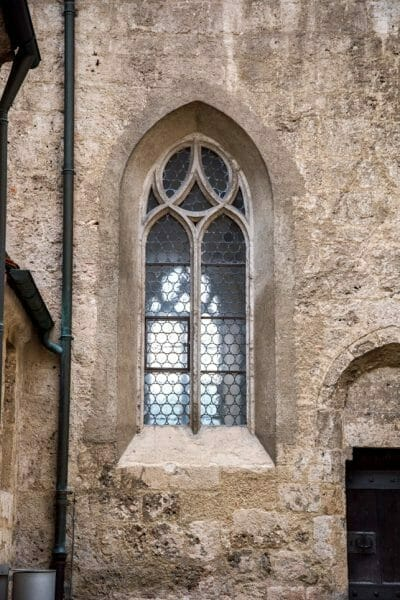 Burghausen Castle church windows