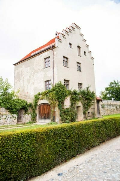 Burghausen Castle house