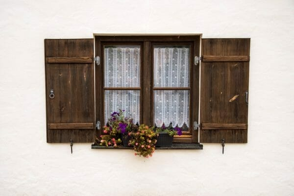 Burghausen Castle windowbox
