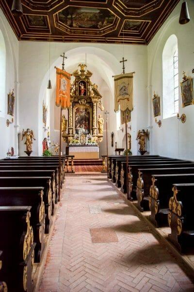 Historic German chapel