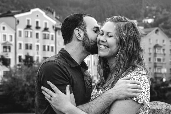 Honeymoon photoshoot in Innsbruck