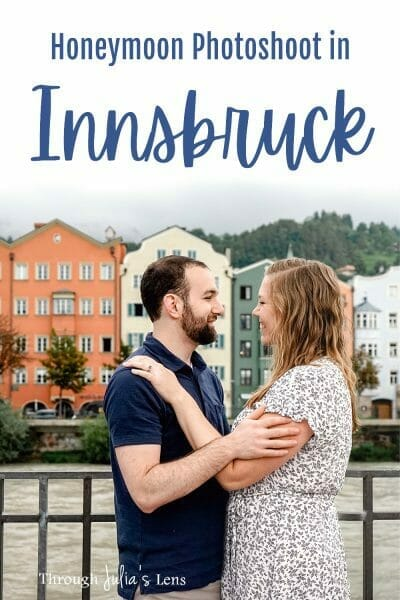 Our Amazing Honeymoon Photoshoot in Innsbruck, Austria!