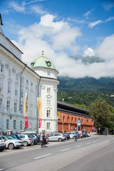 Hofburg palace Innsbruck