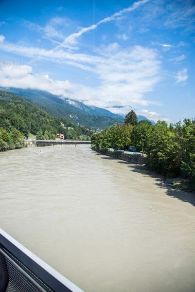 Innsbruck river views