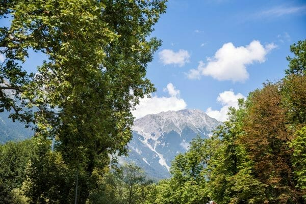 Alps in Innsbruck
