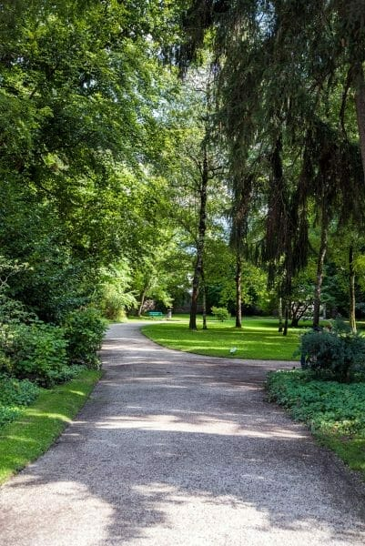 Park in downtown Innsbruck