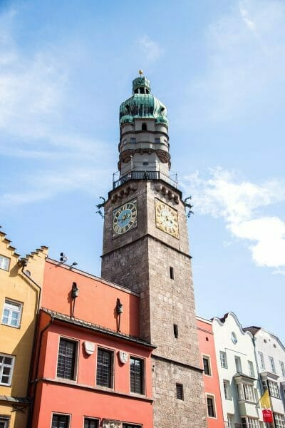 Clock tour in Innsbruck