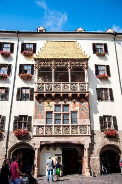 Golden roof in Innsbruck