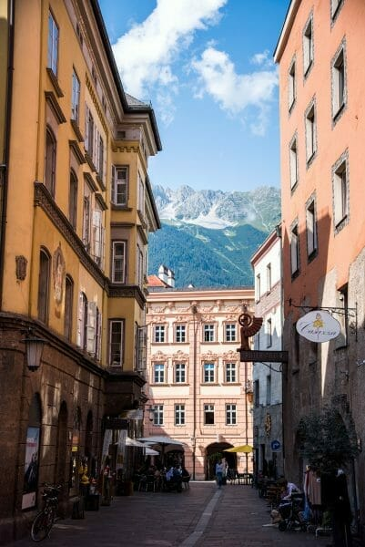 Mountains in Innsbruck