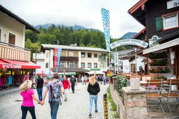 Stores by Lake Konigssee