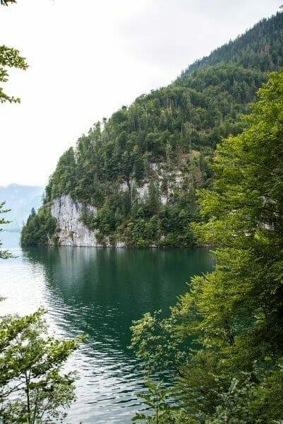 Mountains on Lake Konigssee