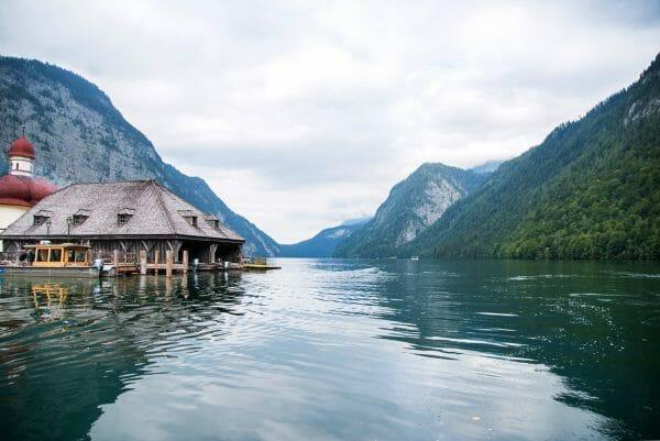 Lake Königssee in Germany