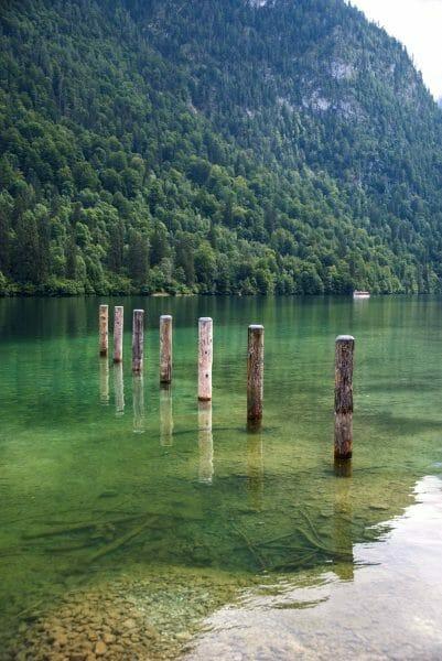 Lake Konigssee in Germany