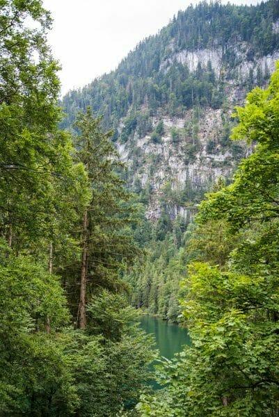 Hiking around Lake Konigssee