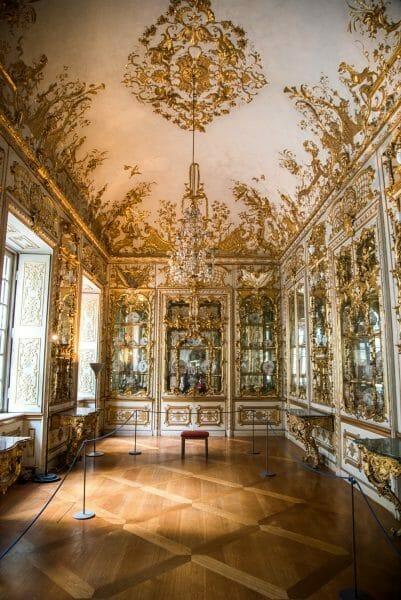 Golden room in in Residenz