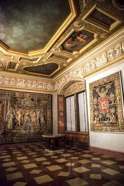Tapestry room in Residenz
