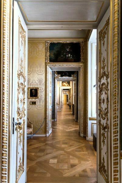 Gold doors in Residenz