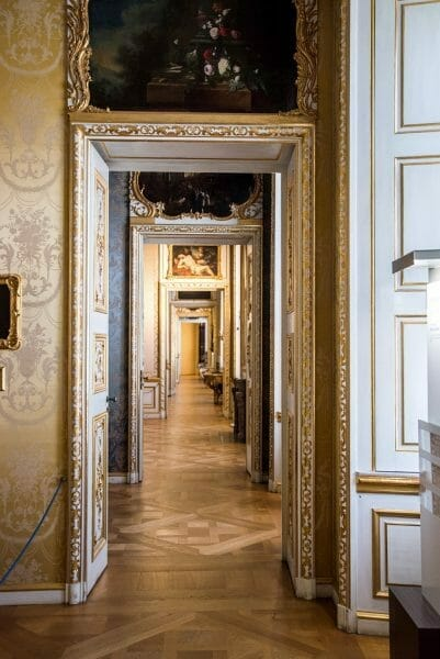 Doorways in Residenz in Munich